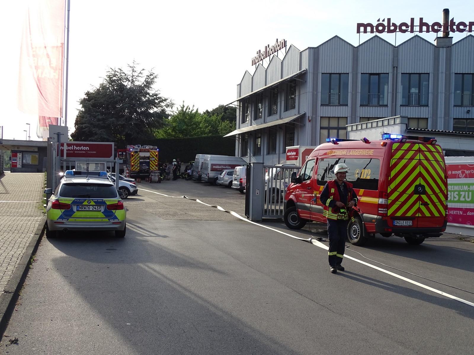 Motorbrand In Schreinerei